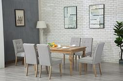 Oliver Smith - Roosevelt Collection - 7 Piece Dining - Table