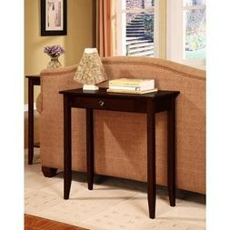 Rosewood Console Table, Coffee Brown by BLOSSOMZ