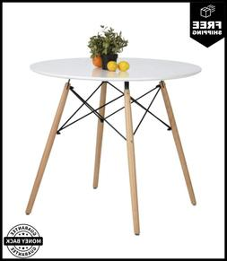 Round Dining Table White Pedestal Tables Coffee Table Eiffel