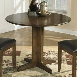 Round Drop Leaf Table - Signature Design by Ashley Furniture