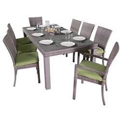RST Brands Cannes 9 Piece Dining Set with Cushions