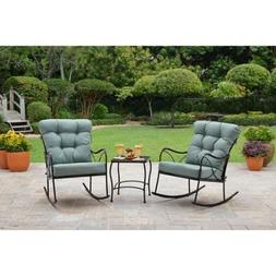Better Homes and Gardens Seacliff 3-Piece Patio Rocking Chai