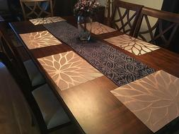 Set of 4 Kitchen Dining Table Placemats Washable Heat Resist