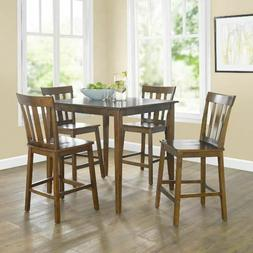 Small Dining Set Counter Ht Table Chairs Kitchen Breakfast N
