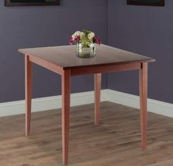 """Small Kitchen Dining Table Wood Square Compact 30"""" Breakfast"""