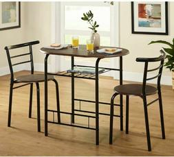 Small Kitchen Table Set Chairs Breakfast Nook Dining Round S