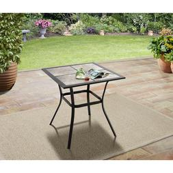Small Outdoor Patio Dining Table Backyard Furniture Heavy Du