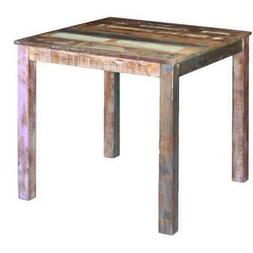 vidaXL Solid Reclaimed Wood Dining Table Kitchen Dining Room