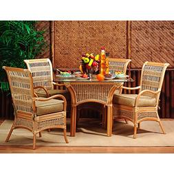 Spice Islands Wicker Sunroom Dining Set