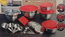 Better Homes and Gardens 21 Piece Stainless Steel Measure an