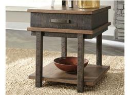 🔥Signature Design by Ashley Stanah Rectangle End Table–