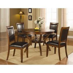 Coaster Home Furnishings Swanville 5 Piece Dining Table Set