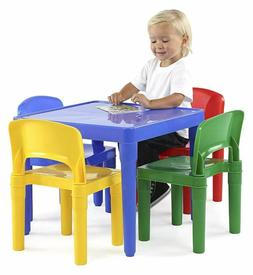 Table And Chairs For Toddlers Kids Outdoor Playroom Plastic
