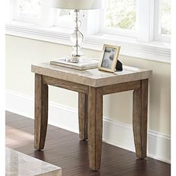 End Table / Side Table in Casual Contemporary Style Wood  Wi