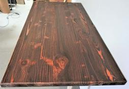 "Table Top,Rustic Reclaimed Wood Dining Table top 48""x 24""x 1"