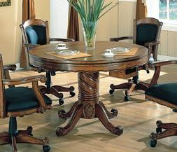 """Coaster Turk Collection 100871 48"""" 3-in-1 Game Table with Ro"""