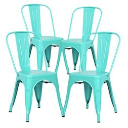 Poly and Bark Trattoria Side Chair in Aqua