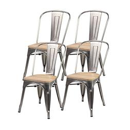 United Chair Tolix Style Metal Stackable Kitchen Handmade Wo
