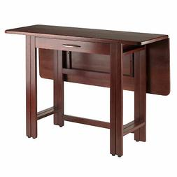 Winsome Wood Transitional Walnut Solid Wood Dining Table 941