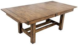 Trestle Table in Rustic Whiskey Finish