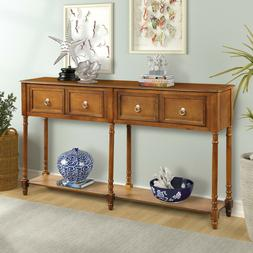 Vintage Console Table Sofa Side For Hall  Entryway Console T