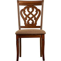 Vittorio Side Chair, Featuring Cushion Seating, Presented In