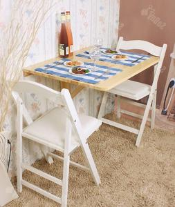 Haotian Wall-mounted Drop-leaf Table, Folding Dining Table D