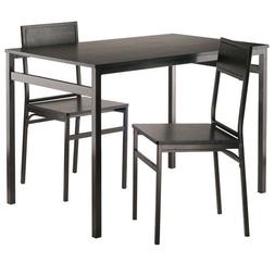Winsome Wood Milton 3-PC Set Dining Table With Chairs WIN-20