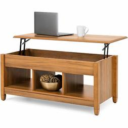 BCP Coffee Table Furniture w/ Hidden Storage, Lift Tabletop,