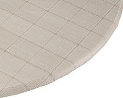 Woven Lattice Vinyl Elasticized Table Cover by Miles Kimball